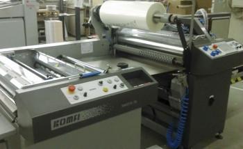 В типографии ABT Group запущен полноформатный ламинатор Komfi