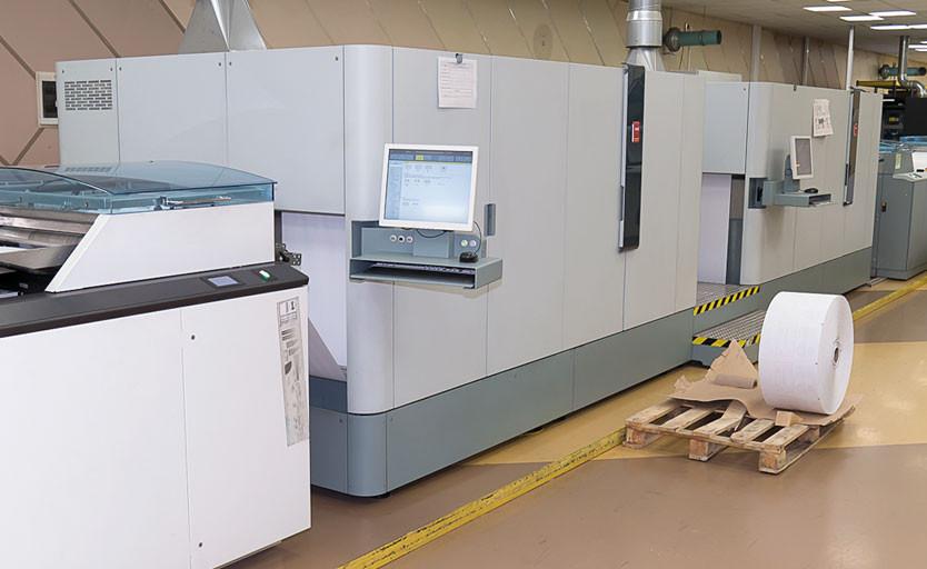 В компании ACCORD POST эксплуатируются множество рулонных цифровых печатных машин компании Canon (Oce' ) разных лет выпуска, включая самые современные, например Océ ColorStream