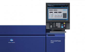 В Центре печати «Линк» запущена цифровая печатная машина Konica Minolta AccurioPress С6085