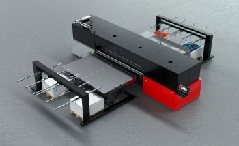 Широкоформатный УФ-принтер Jeti Tauro H3300 LED производства Agfa Graphics