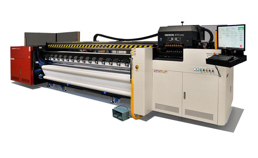 Широкоформатный рулонный УФ-принтер Agfa Oberon RTR3300
