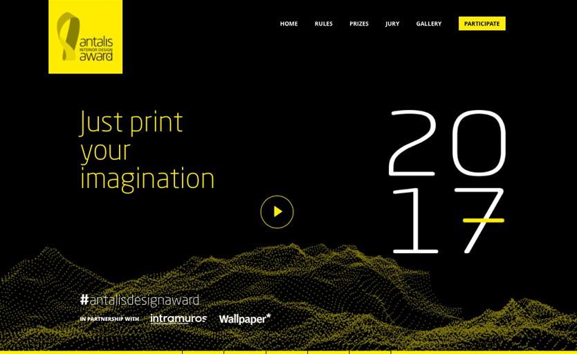 Новый конкурс – Antalis Interior Design Award