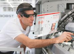 Bobst запускает Helpline Plus AR – сервис поддержки клиентов c технологией дополненной реальности