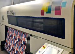 Текстильный принтер JP4 Evolution на производстве компании Bona Fide