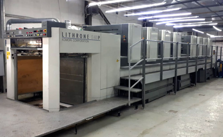 Komori Lithrone S40P