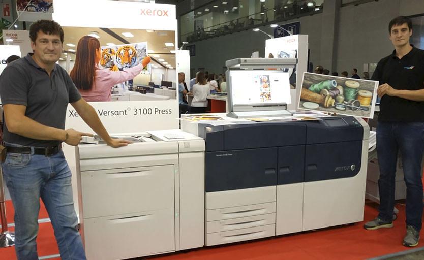 В типографии CMYK запущена ЦПМ Xerox Versant3100 Press