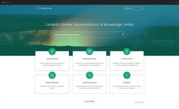 Caldera запускает CalderaDesk для помощи пользователям