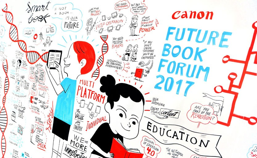 Canon Future Book Forum 2017: Is Content Still a King?