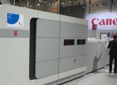 На drupa 2016 компания Oce презентовала новейшую листовую струйную машину VarioPrint i300