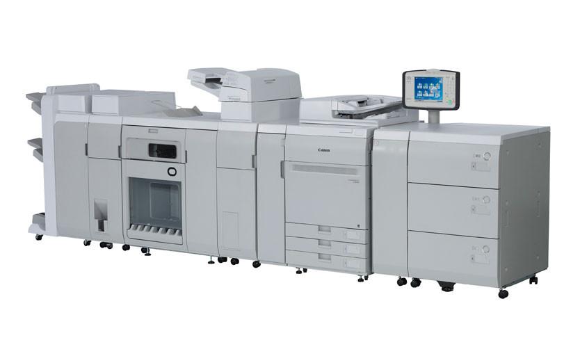 Цифровая печатная машина Canon imagePRESS C850 с дополнительными подающими и финишными модулями