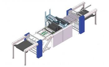 Рисунок струйной печатной машины Domino формата В2