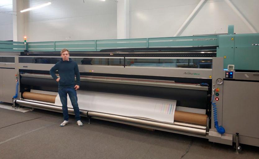 В компании «Драйв-принт» запущен пятиметровый УФ-принтер Fujifilm Acuity Ultra