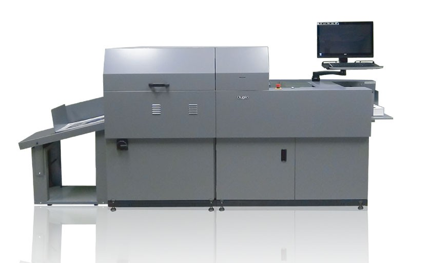 Duplo DDC-810 Raised Spot UV Coater