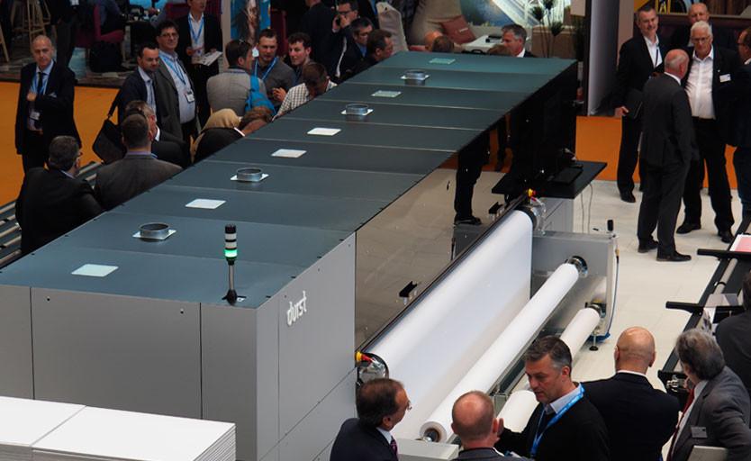 УФ-принтер Durst P5 350 шириной 350 см