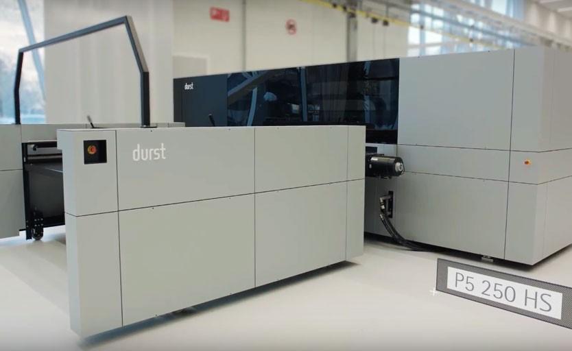 Durst разработала новую платформу P5 для струйной печати