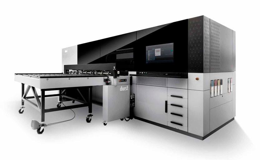 Широкоформатный струйный УФ-принтер Durst P5 250 HS