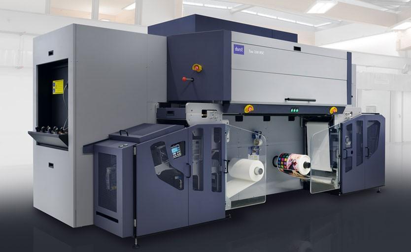 Стройная машина для печати этикетки и упаковки Durst Tau 330 RSC