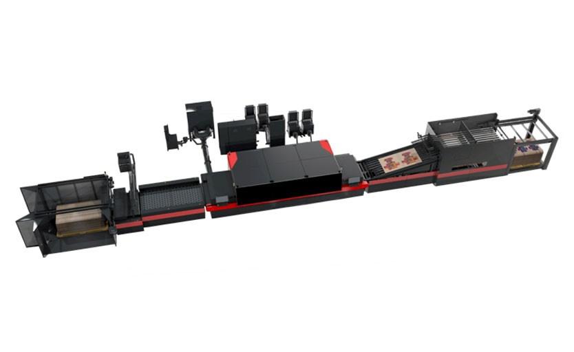 Первая машина Nozomi C18000 была установлена в испанской типографии Hinojosa в 2017 году