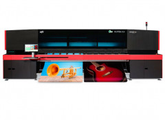 Широкоформатный рулонный УФ-принтер EFI Vutek D3r