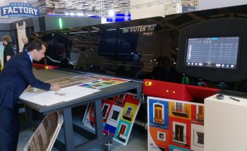 EFI Vutek h3 на выставке Fespa Global Print Expo 2018