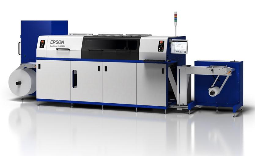 Струйная машина для печати этикетки Epson SurePress L-4533