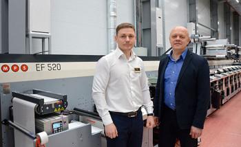 Генеральный директор «Еврофлекс» Виталий Жаглин и генеральный директор «Огард» Дмитрий Емелин