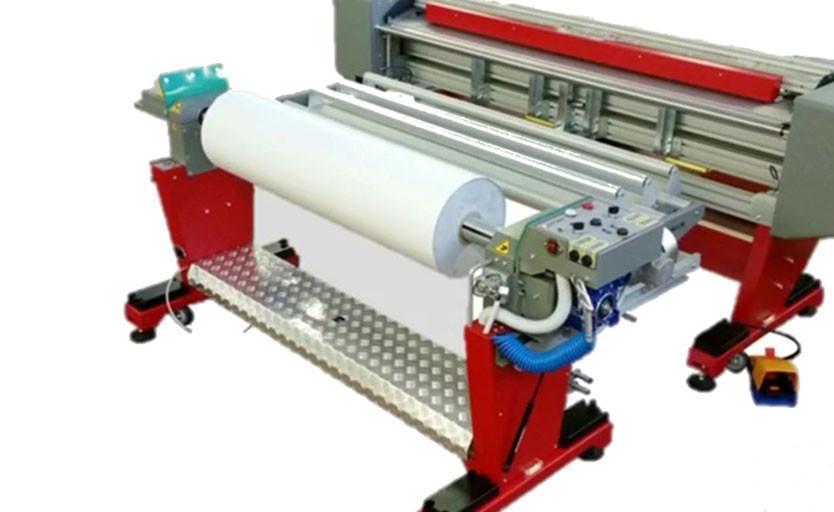 Устройство для подачи больших и тяжелых рулонов Fotoba Jumbo Roll