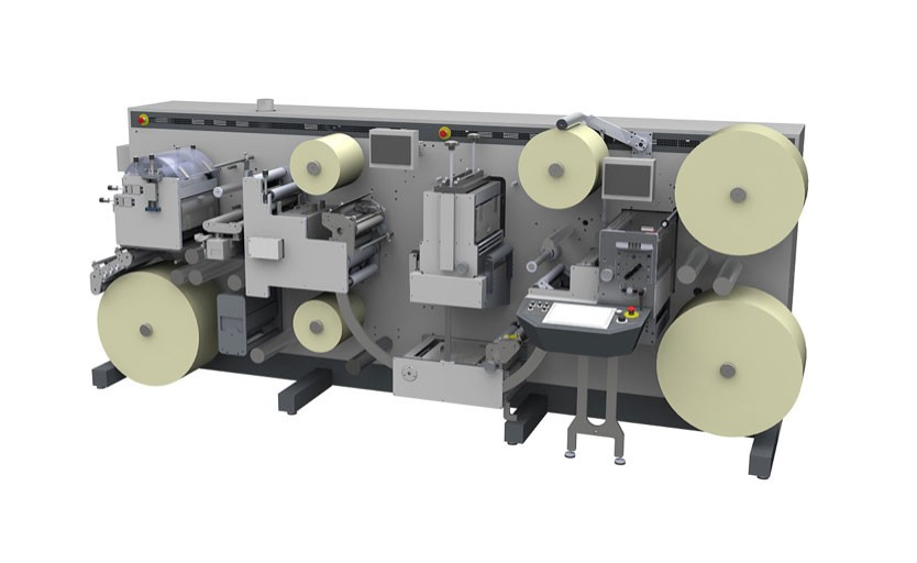 DC330 Semi-Rotary производства Grafisk Maskinfabrik