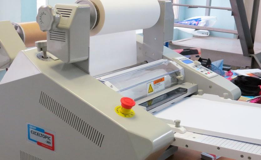 Рулонный ламинатор GMP Exceltopic-380