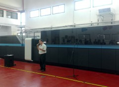 Landa S10 Nanographic Printing Press в Graphica Bezalel. Фото: Infotrends