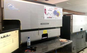 """В демозале """"НИССА Центрум"""" установлена этикеточная ЦПМ HP Indigo 6900"""