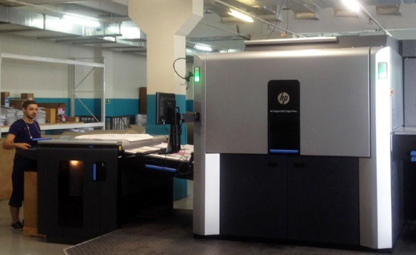 HP Indigo 10000 Digital Press
