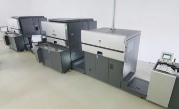 HP Indigo 8000 Digital Press может печатать со скоростью до 80 м/мин. (4+0, режим EPM)