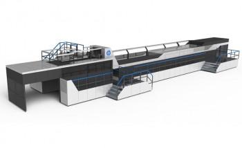Машина для струйной печати по гофрокартону HP PageWide C500 Press