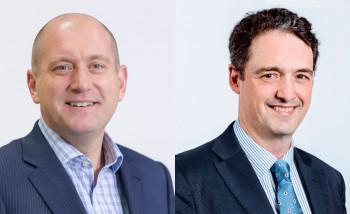 Генеральный менеджер подразделения Graphics Solutions Business в регионе EMEA Саймон Юингтон (Simon Ewington) и директор по широкоформатной печати HP Latex в регионе EMEA Хавьер Ларраз (Javier Larraz)