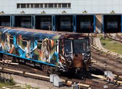 Поезд метро декорировали с использованием решений HP Latex