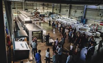 """Презентация офсетной машины Heidelberg Speedmaster XL 106-6+L в типографии """"Проф-Пресс"""""""