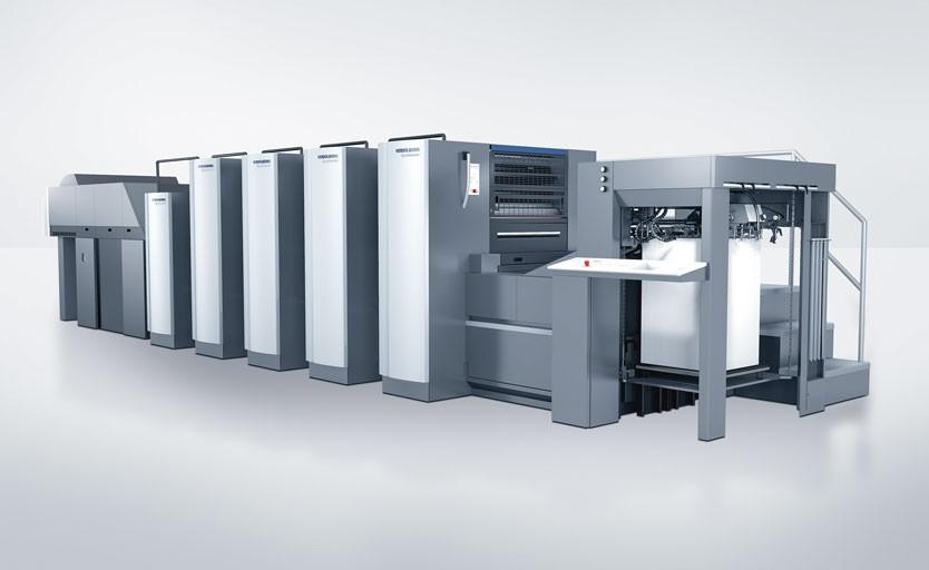 Листовая офсетная печатная машина Heidelberg Speedmaster CX 75