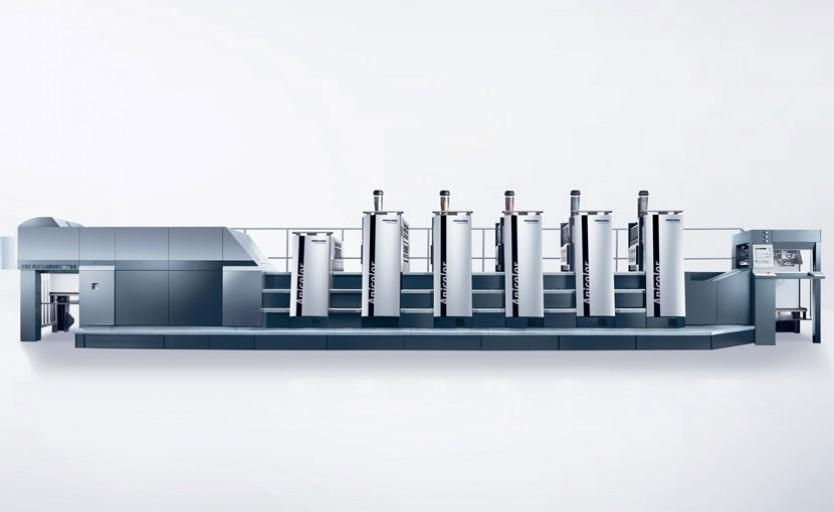 Офсетная печатная машина Heidelberg Speedmaster XL 75 с новым красочным аппаратом Anicolor 2 стала еще более производительной и гибкой