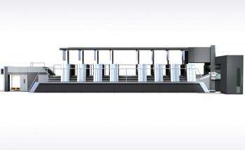 Листовая офсетная машина Speedmaster XL 106 поколения поколения  drupa 2020 в восьмикрасочной конфигурации с новой системы автоматической смены печатных форм