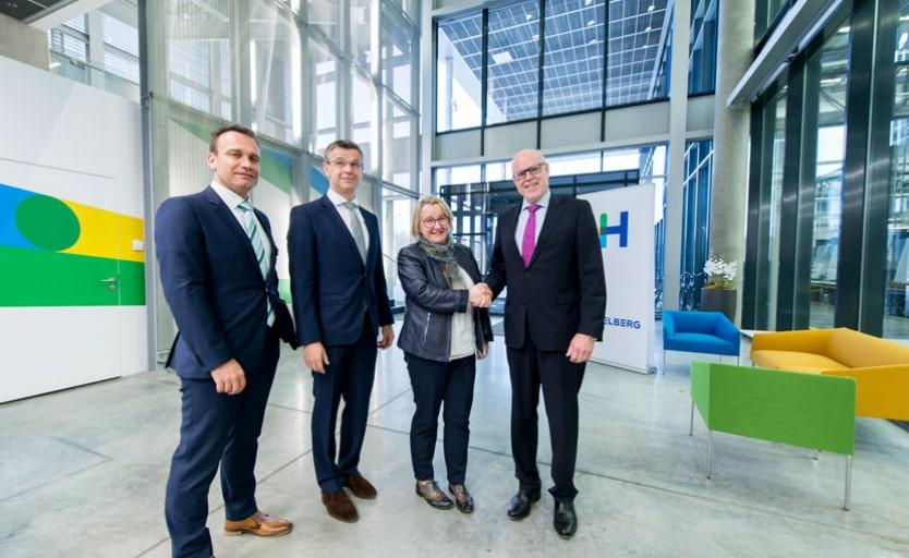 Heidelberg вкладывает 50 млн. в создание исследовательского центра