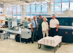 """В типографии """"Двор печатный АВТОВАЗ» запущен комплекс оборудования Horizon для клеевого скрепления"""
