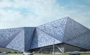 Проект ТРЦ, которай разместится на месте газетного комплекса, был разработан студией INTERCOLUMNIUM еще в 2016 году