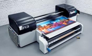 Широкоформатный гибридный УФ-принтер Inca Digital SpyderX