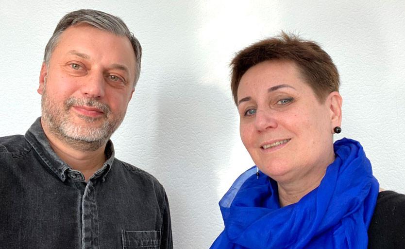 Михаил Нестеренко и Марина Борисова
