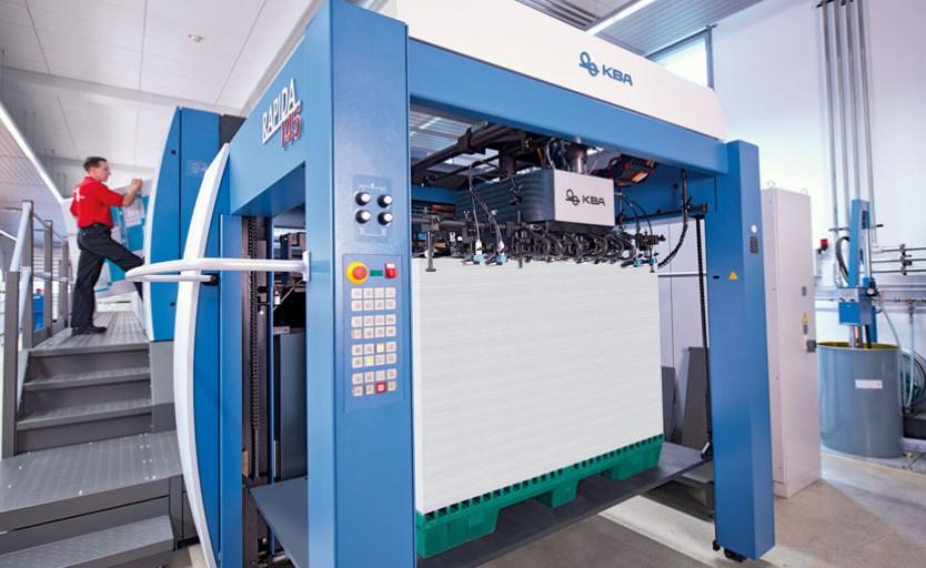 Машины Rapida большого формата для печати картонных коробок внесли значимый вклад в результаты работы KBA-Sheetfed