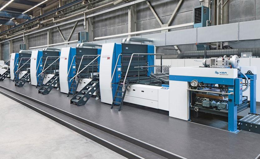 Специализированная машина для печати по жести Mailänder 280