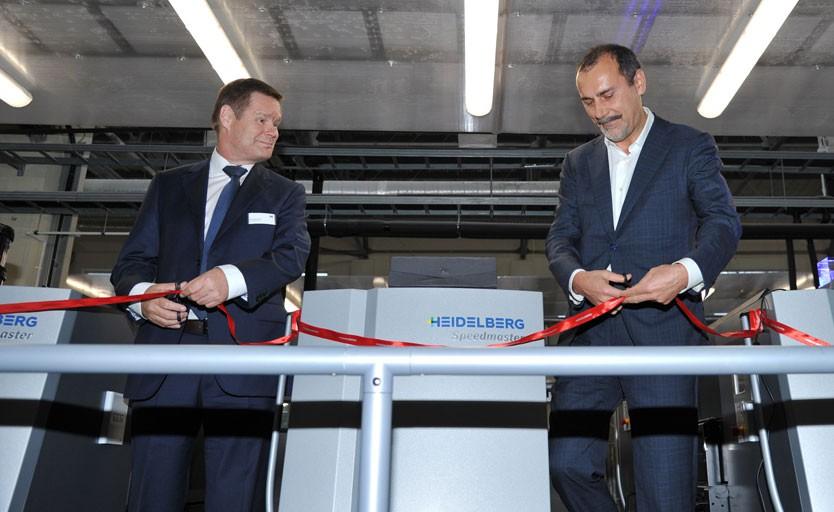 Эса Сааринен, генеральный директор «Гейдельберг-СНГ» (слева), и Евгений Келин, генеральный директор «Келла»