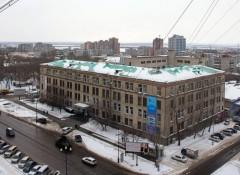 Здание Хабаровской краевой типографии