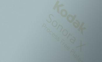 Kodak выпустил новые беспроцессные пластины Sonora X Process Free Plate